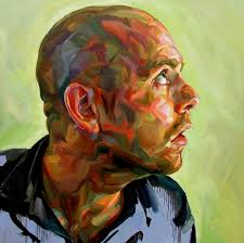 Early self portrait of Paul Wright