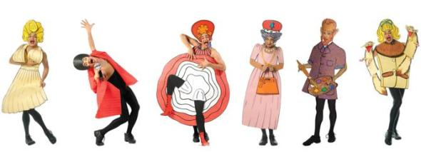 The many card costumes of Ennio Marchetto